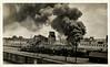 Factory Fire, c. 1930s. Gelatin Silver Print Snapshot