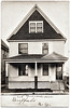 "House Front, ""208 Riverside Ave, Buffalo, N.Y."" c. 1918. Real Photo Post Card"