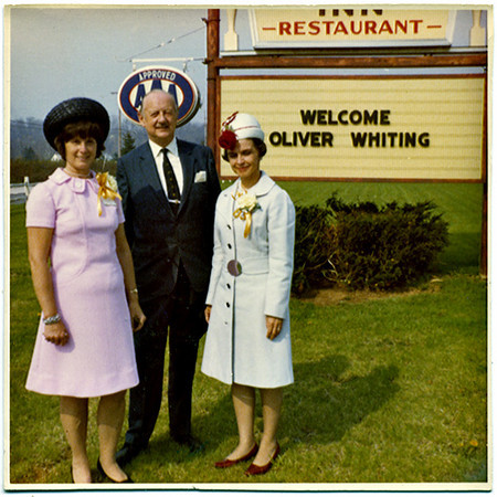 Oliver Whiting Approved and Welcome, c. 1960s. Dye Coupler Print Snapshot