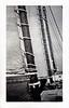 Schooner Under Way, c. 1920s. Gelatin Silver Print Snapshot