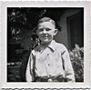 Howdy Doody Boy, c. 1950s. Gelatin Silver Print Snapshot (perhaps a boyhood photo of Attorney General Jeff Sessions?)