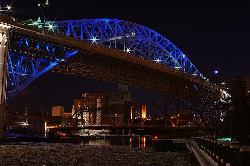 Veterans Memorial Bridge Cleveland Ohio