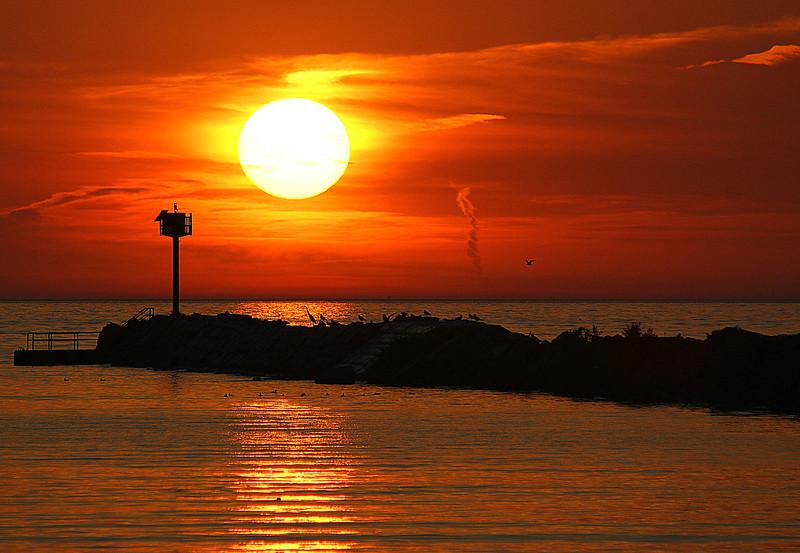 Shot from Lorain's Mile Long Pier