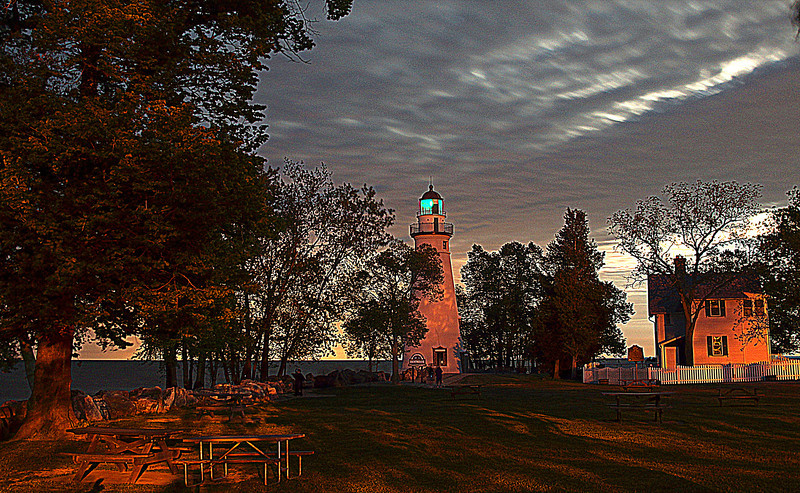 Marblehead Lighthouse, Marblehead Ohio