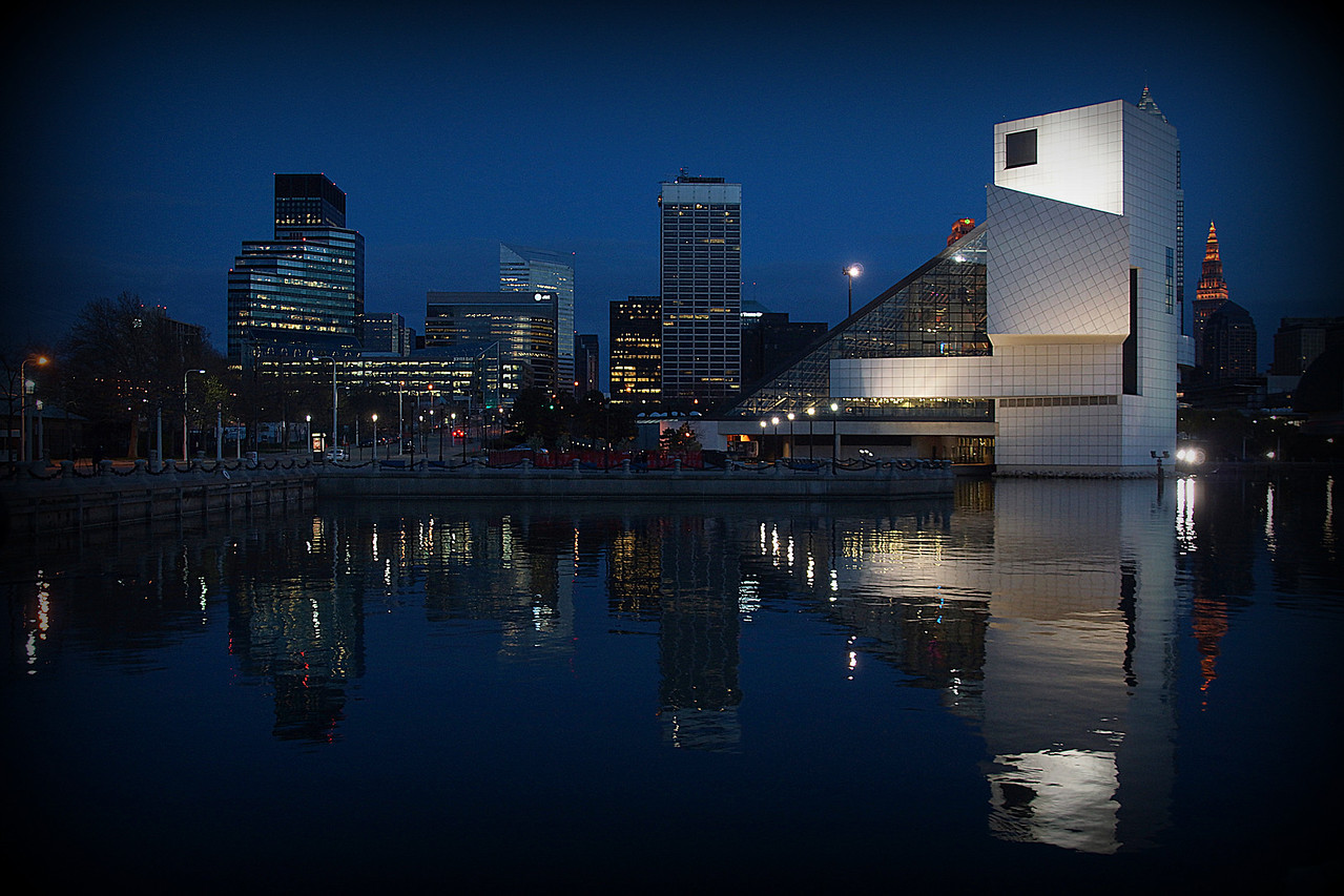 Cleveland's Rock-N-Roll Hall Of Fame