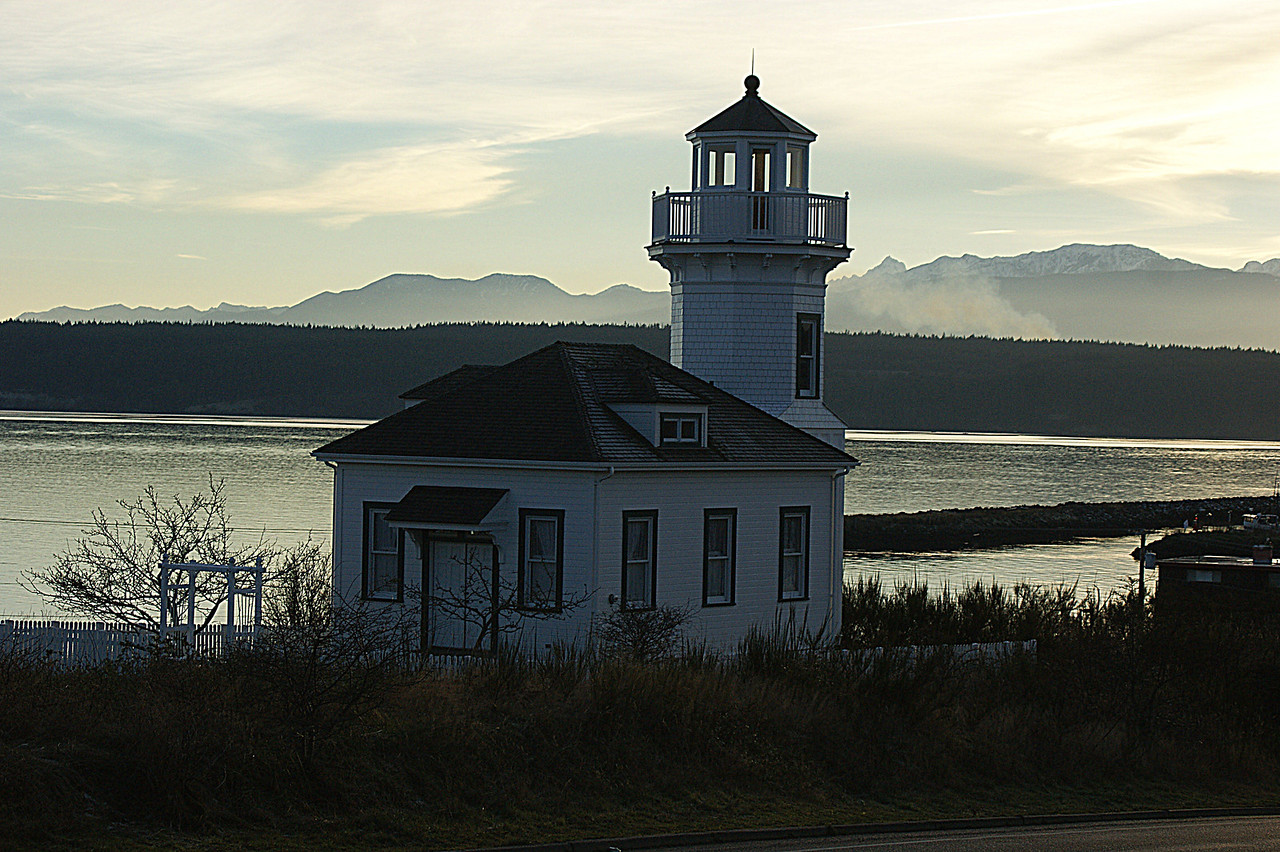 Port Townsend Lighthouse, Port Townsend Washington