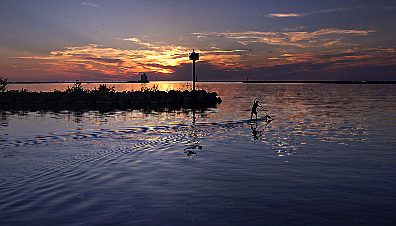 Jim Lawhead from Lake Erie Paddle Boarders