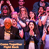 """Supporters cheer Vermont senator Bernie Sanders as he addresses a rally at the Verizon Theater on Thursday, April 20, 2017, in Grand Prairie, Texas. Sanders, the runner-up in the 2016 Democratic contest for president, appeared in North Texas as part of a national tour urging Democrats to """"Come Together and Fight Back"""" against the agenda of President Trump. (Smiley N. Pool/The Dallas Morning News)"""