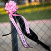 """A ribbon bearing his name flutters from a fence during the """"Remember His Name: Vigil for Jordan Edwards"""" candlelight vigil at Virgil T. Irwin Park on Thursday, May 4, 2017, in Balch Springs, Texas. Edwards was a 15-year-old freshman at Mesquite High School, who was shot and killed by a Balch Springs Police Officer as Edwards and his friends were leaving a party on Saturday. Roy Oliver, the officer who shot Edwards was terminated from the Balch Springs Police Department following the shooting. (Smiley N. Pool/The Dallas Morning News)"""