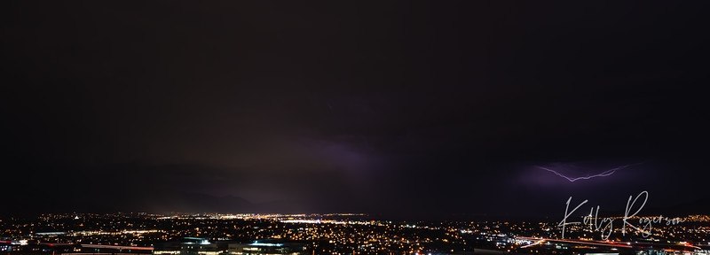 Lightening storm over Utah County, Utah on August 22, 2018. The storms the last few days have brought some amazing lightening storms that just go on for hours. I don't remember anything like this in the recent years. It's been thrilling to watch and although I'm no expert at photographing lightening, these were a lot of fun to capture.