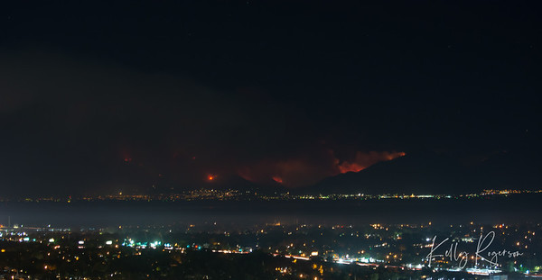 Pole Creek and Bald Mountain Fires, Utah County, Utah