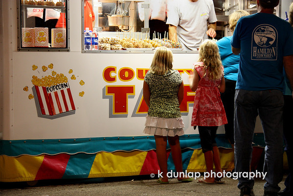 "07.31.09 =  What's a fair without ""fair food""?  Popcorn, candied apples and cotton candy; three good old fashioned treats.  <br /> <br /> Have a great weekend everyone!<br /> <br /> ""Stressed spelled backwards is desserts. Coincidence? I think not!""   Unknown"