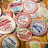 "08.29.13 = Got Milk?<br /> <br /> Just lovin' on these old milk bottle caps.  Remembering the days of the Milk Man and all the local dairies…<br /> <br /> ""Get off your horse and drink your milk.""  John Wayne"