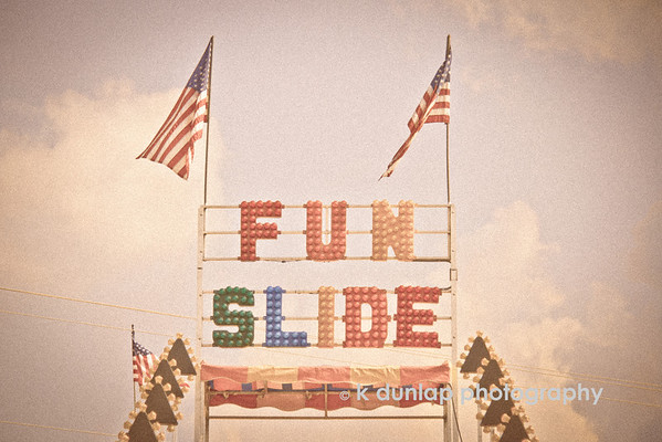 "07.31.13 = Having Fun Yet?<br /> <br /> I think we all need a turn down the ""fun slide"".  <br /> <br /> ""Fun is good.""  Dr. Seuss"