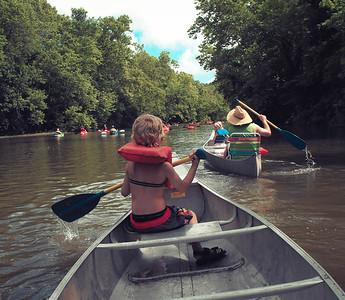 7.2015 Canoe Trip Niangua River