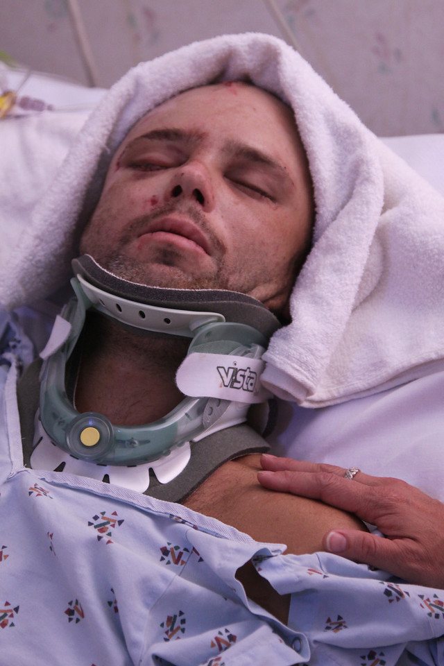 David After 3 1/2 Hours of Surgery