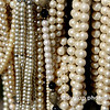 "05.07.10 = Mothers Pearls<br /> <br /> Growing up, my mother's jewelry box was off limits to little girls.  Well, with four of them you can imagine the fascination with jewelry.  I can remember standing on my tippy-toes, tippy-toes just to get a little glance of what was inside that big box on her dresser. On those special occasions when her and my father were going out for the evening, she would set it on the bed for us to look through.  There were all sorts of beautiful things; rings and necklaces; earrings, bracelets and pins.  She only wore them on very special occasions and I guess that's they were so special to us as well.  I remember a big banquet that they were attending for my father's work.  She raised and ran a house of four girls during the day and at night, she sewed her own gown and cape to match.  (It was the late 60's and cape's were the high fashion.) We all waited at the bottom of the stairs and watched as she seemed to float down them. Everything was perfect, from her head to her toes and she smelled wonderful. I remember watching my father put her cape on her shoulders and with one last kiss to each of us, they seemed to dance right out the door.  Funny; I was helping her do some work at their house just last week; you know, she still has that cape in plastic, hanging in the closet.  Some things are just too special to let go of.  <br /> <br /> ""….preserve your memories, they're all that's left you.""  Simon & Garfunkel; Bookends"