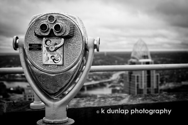 """11.21.11 = Observation Deck<br /> <br /> """"The higher you go the broader your perspective, but you lose sight of all the little details.""""  Kristan Dunlap"""