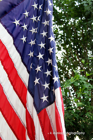 06.14.11 = My Flag Day<br /> <br /> Red for bravery and bloodshed; white for hope and peace; blue for freedom and justice and just like the stars in sky, our American dreams are endless.  That's my flag.