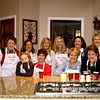 "11.11.11 = Flashback Friday 2008<br /> <br /> I know it was only a few years back but… This weekend my cousins from St. Louis are coming in for our Potica baking weekend.  Potica is a long tradition in our family.  If you're not familiar with it, as most of you won't be, it's a bread rolled with walnuts and a sugar and cinnamon mixture.  Ummm!  My grandmother and great grandmother baked it every year and sent a box to us for the holidays.  Mom would cut the first loaf on Christmas morning and we had it before and sometimes again after, we unwrapped presents.  It was just that special treat that you only got once a year.  When my grandmother passed away in early 1992, Christmas mornings after that were just not the same.  My oldest sister had a dream one night in 1994 or 95' which was it?  Anyway, she dreamt that the four of us sisters made it.  And dreams really do come true, because that year we all got together and surprised my mother with a perfect loaf.  We've been doing this every year since.  We have great stories and the laughter is loud and continuous.  One year my sister Kim left the hospital after an emergency trip for kidney stones, just so she wouldn't miss Potica day.  The doctor gave her a roadie of pain killers and said, ""That must be some damn good bread.""  In 2007 my cousins wanted to join in, as they too, missed having theirs on Christmas morning.  In 2007 they came to Cincinnati and we've been alternating hosting the special day.  It's great to keep up traditions and maybe put a new spin on them as well.  Anyway, it's about time with family and that's what I treasure most.  <br /> <br /> ""When you look back at your life, the greatest happiness's are family happiness's.""  Dr. Joyce Brothers"