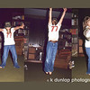 "02.24.12 = Flashback Friday – 1973 – Friday Night Dance Party<br /> <br /> Before all the boyfriends, cars and everyone going in different directions,  Friday nights were always a family fun night.  Mom would make fun food, like a pizza or hamburgers for dinner and Dad would crank up the stereo with his records.  We would sing, dance and act out to all the songs and the music.  We grabbed anything from around the room to use as a prop; Mom's knitting needles as drum sticks, a round basket as a tambourine and Dad's fishing hat just for kicks. The photo's are of me acting out something. Gosh, did we have fun.  We laughed, danced and sang until we were tired, sweaty and hoarse. When my nieces and nephews were young, I tried keeping the tradition alive.  I would sit for them on Friday nights and let my sister and brother-in-law get out for the night.  They would take turns acting out to songs and music.  The tradition of props continued as well; A hockey glove on one hand for Michael Jackson;  A pom pom on the head for a guitar solo.  Maybe we need to rekindle the Friday Night Dance Party!  What do you think? <br /> <br /> ""You can discover more about a person in an hour of play than in a year of conversation."" Plato"
