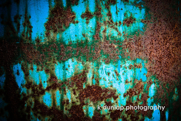 "02.22.12 = Rust<br /> <br /> ""A sword, a spade and a thought should never be allowed to rust.""  James Stephens"