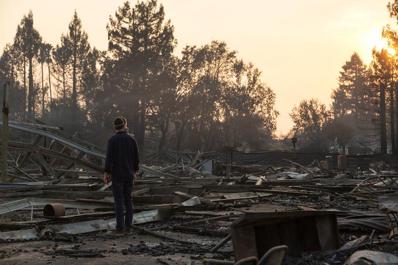 Coffey Park, Santa Rosa 2017<br /> Reporter: Stett Holbrook