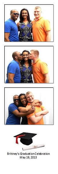 Standard 2x6 strip of 3 photos
