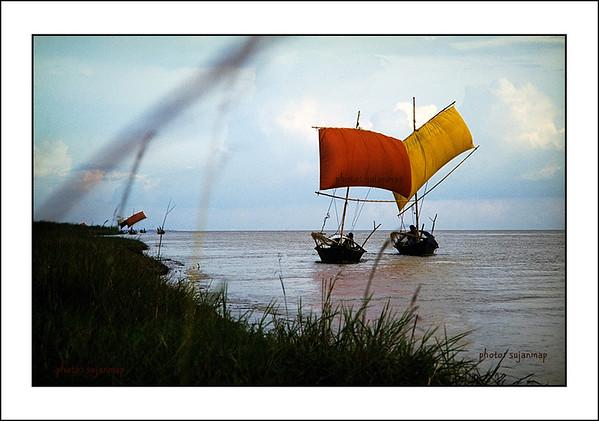 Sailing Boat of Bangladesh by sujanmap