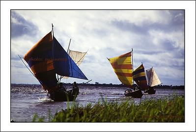 Sailing boat of Bangladesh