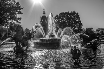 J.C. Nichols fountain on the plaza in Kansas City
