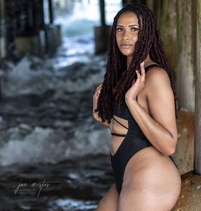 Mini photoshoot with Emerald under the pier at Daytona Beach.  Instagram @itsmmyyy_  Photos by: Joe Mestas www.joemestas.com email: onthegulf@gmail.com Follow me on Instagram: @Joe_Mestas