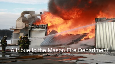 Tribute to Mason Fire Department