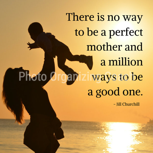 No perfect mother Design 2 Social Graphic Square