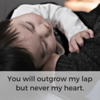 Never outgrow my heart Social Graphic Square