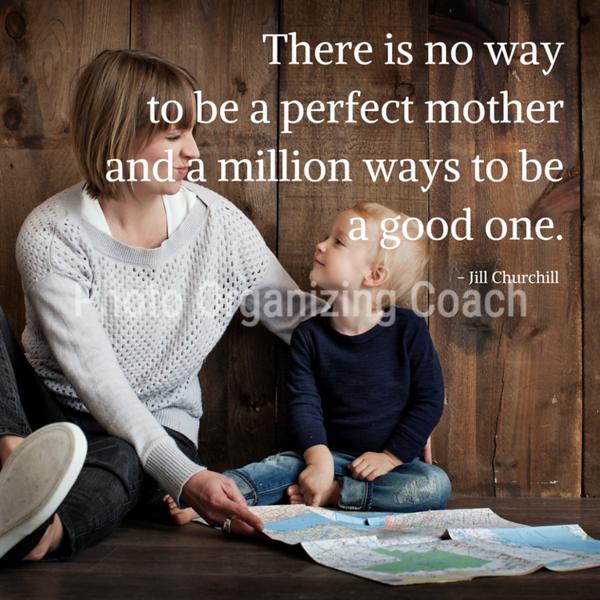 No perfect mother Design 1 Social Graphic Square