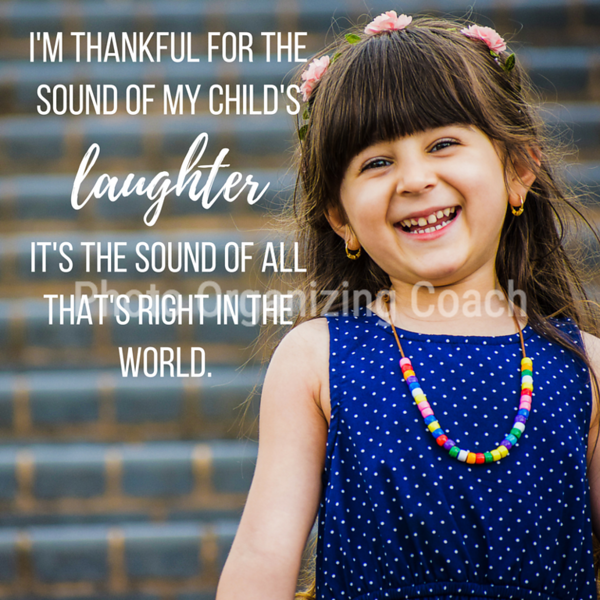 Child's laughter Social Graphic Square