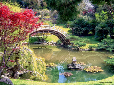The Japanese Garden at The Huntington Botanical Garden and Library