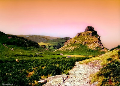 The Valley of the Rocks, Exmoor, England