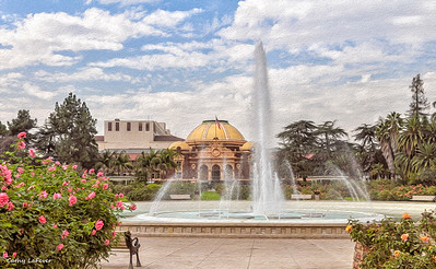 Exposition Park Rose Garden, Los Angeles, CA