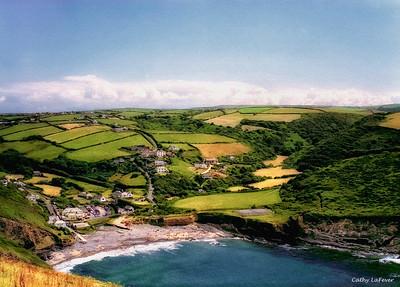 Crackington Haven, Cornwall, England
