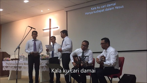 VG Pelaut: HANYA YESUS JAWABAN HIDUPKU