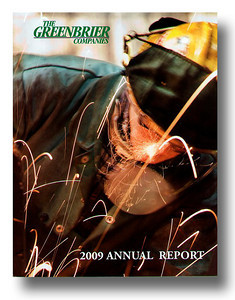 2009 Greenbrier Companies annual report