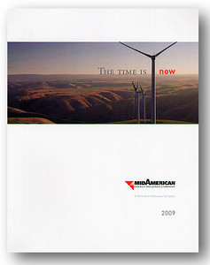 MidAmerican 2009 annual report.  PacifiCorp's wind-generation project.