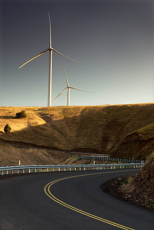 PacifiCorp Goodnoe Wind Generation facility near Goldendale, Washington