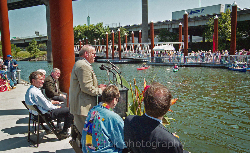 Dedication of the Eastbank Esplanade