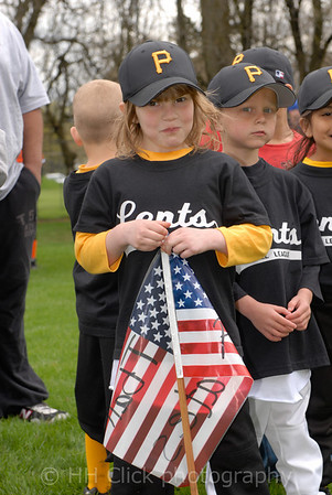 Dedication of Lents Little League baseball fields