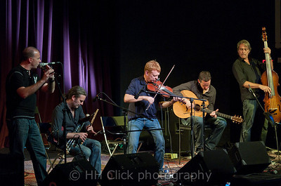 Lunasa performing at the Alberta Rose Theater