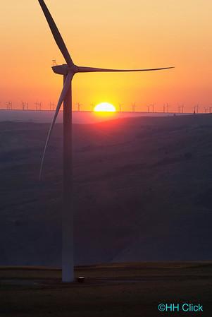PacifiCorp Goodnoe Wind Generation facility near Goldendale, Washington