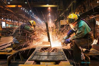 Railcar construction.